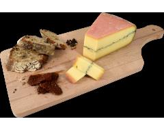 Planche fromage Morbier AOP Badoz au lait cru Prestige 60 jours