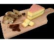 Planche fromage Morbier AOP Badoz au lait cru Excellence 100 jours