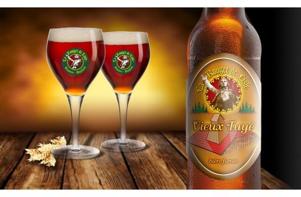 Bière Vieux Tuyé Rouget de Lisle bouteille