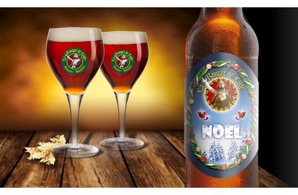 Bière de Noël Rouget de Lisle bouteille