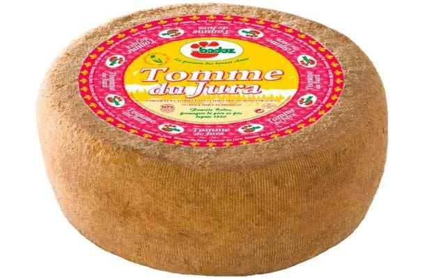 Meule fromage Tomme du Jura Badoz
